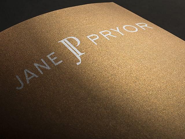 Jane Pryor Logo Design