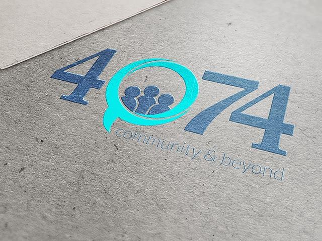 4074 Logo Design